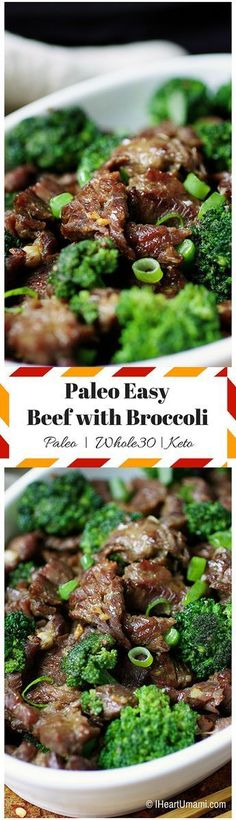 Paleo Keto beef with broccoli Savory juicy beef pan fried with crunchy broccoli in homemade savory sauce with no added sugar Get full recipe at IHeartUmami Ketogenic Recipes, Paleo Recipes, Asian Recipes, Low Carb Recipes, Real Food Recipes, Paleo Meals, Paleo Food, Paleo Vegan, Ketogenic Diet