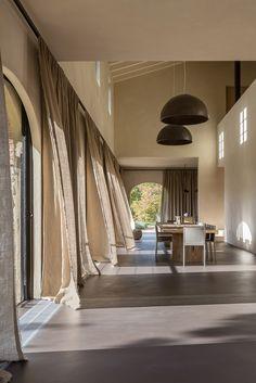 PATRICK PONSEELE   inventief in raamdecoratie   inventivité en décoration de vitres   inventive in window decoration   Italië   Siena   Landelijk