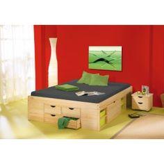 Er vild med idéen om et sengebord der kan rulles under sengen