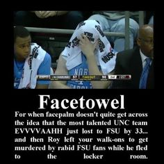 Classy Unc as usual...oh wait.