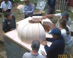 MHA News - 2001 Le Panyol Bakeoven Workshop