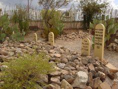 Boot Hill - Tombstone, Arizona