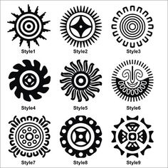 Mexican Art Tattoo Symbols Native American 45 New Ideas Indian Symbols, Viking Symbols, Egyptian Symbols, Ancient Symbols, Tribal Symbols, Viking Runes, Simbols Tattoo, Inca Tattoo, Sun Tattoos