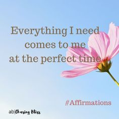 Affirmations and daily inspiration