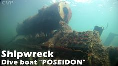 Sail And Under Adventures: Shipwreck Dive Boat Poseidon - Sail and Under Adventures [Video]