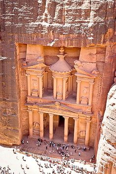 Petra, Jordan - The tiny city carved into stone that my dad loved so much.  I want to go there to walk the streets, visit the biblical sites, see his  neighborhood where he grew up, the church his family attended, just to feel what he felt as a kid, and understand why he loved this little place so much.  He left so long ago, never to return home, but his heart always belonged to Jordan...