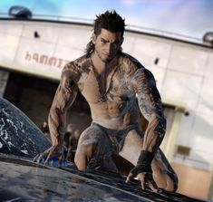 """""""Just bought Final Fantazy XV. Here's one of the reasons why. Final Fantasy Art, Fantasy Male, Fantasy Warrior, Fantasy Artwork, Male Fairy, Male Pinup, Superhero Cosplay, Gay Comics, Art Of Man"""