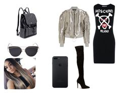 """""""outfit #173"""" by anaguilhermep98 on Polyvore featuring Moschino and Off-White"""
