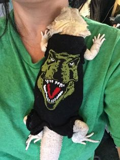 JURASSIC PARK DESIGN 4 XLRG SLEEVELESS BODY SHIRT 4 UNISEX BEARDED DRAGON  | eBay