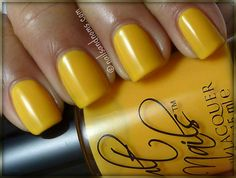 Ban-Yan-na time!    Cult Nails - Feel Me Up by NailsandNoms, via Flickr    #CultNails #JointheCult