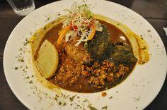 中之島洋館「旧ヤム邸」でいただく、大阪育ちのスパイス混ぜカレー