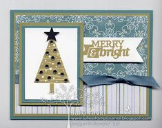 Festival of Trees Christmas Bliss card by Julie Bug - Cards and Paper Crafts at Splitcoaststampers