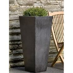 Faro Tall Square Planter