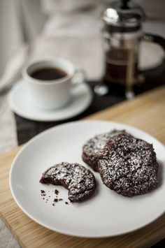 Chewy Chocolate and Ginger Cookies (Gluten Free)