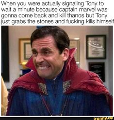 Hilarious Doctor Strange / Stephen Strange and Iron Man / Tony Stark MCU Marvel Avengers Infinity War Endgame Guardians of the Galaxy Memes. Marvel Jokes, Funny Marvel Memes, Avengers Memes, Superhero Memes, Memes Humor, Dc Memes, Funny Memes, Wife Memes, Humor Humour