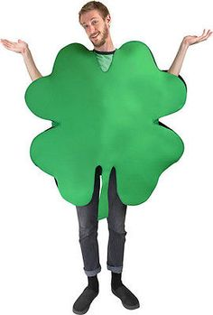 St. Patrick's Day Adult Four Leaf Clover Costume