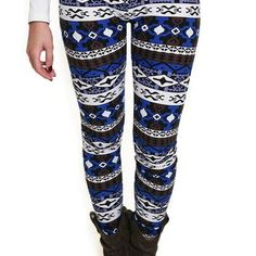 Royal Lineage Patterned Leggings