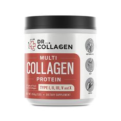 Multi-Collagen Protein (All-In-One) From Dr. Axe Add 2 Tbl to Protein Drink Says Tasteless