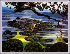 Maher Art Gallery: Eyvind Earle (1916-2000