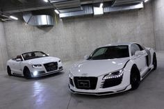 Audi siblings - one for summer, and one for winter