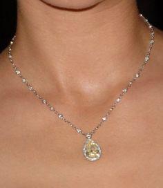 Chopard Yellow Diamond Necklace Profile Photo