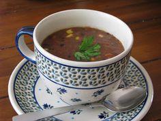 eat clean black bean soup