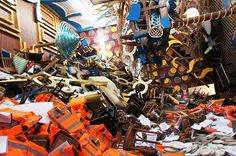 The Italian Cruise-Ship Disaster Becomes An Art Installation, by Thomas Hirschhorn