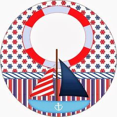 Nautical Photo Booth, Nautical Party, Boy Birthday Parties, Birthday Party Decorations, Party Themes, Sailor Baby Showers, Boat Cartoon, Sailor Theme, Baby Samples