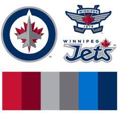 Winnipeg Jets Colour Scheme