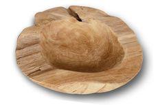 Holzschale LINARES recyceltes Teak