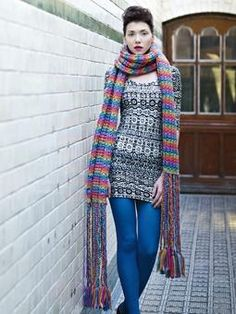 b8af39997 Love this super scarf! The length - perfect! The dangle bottom - brilliant!  Marshmallow ...