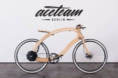 Berlino: ecco la prima bici elettrica interamente di legno | Design Fanpage