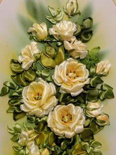 Вышивка лентами Светланы Герасимовой — О прекрасном и дизайне!
