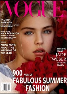 Jade Weber on Vogue Magazine cover