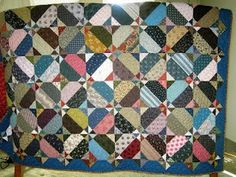 nice scrappy quilt