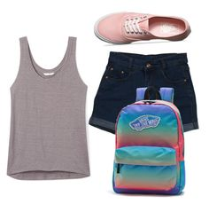 """""""Summer Style"""" by rmccollough139 ❤ liked on Polyvore featuring Rebecca Minkoff and Vans"""