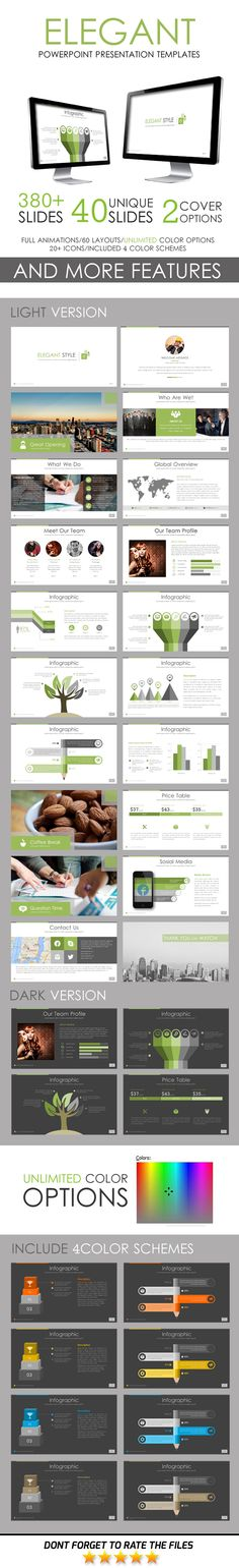 Extravagant PowerPoint Template - #Business #PowerPoint #Templates - elegant powerpoint template