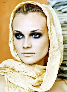 Diane Kruger by estelle.  #makeup  #eyeshadow #latest #newest #popular #trendy