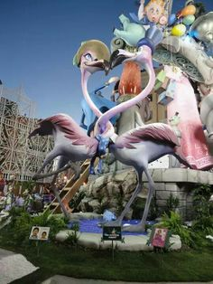 Fallas from Valencia. Valencia Spain, Character Modeling, Monuments, Street Art, Stage, Decorations, Models, Signs, Paper