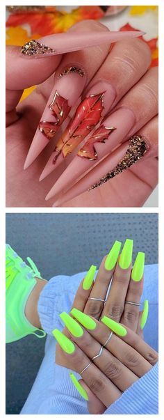 Nail art change like the seasons,every day their is a new trend. Its apart of your wardrobe and persoanl style, the nails you choose to do. You are never fully dress until your nails are neatly manicure. There are plenty of designs to chooce from and some can be done by yourself.