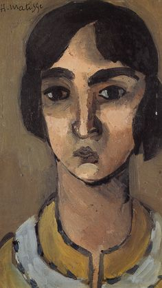 Woman with Dark Hair               24 x 14 cm.                Pirvate Collection              1918