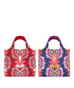 Take a look at this Opulent Ruby & Opulent Blue Violet Reusable Bag Set by LOQI on #zulily today!