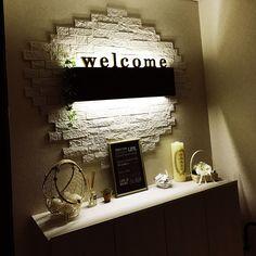 Entrance/照明/雑貨/間接照明/ニトリ/エコカラット...などのインテリア実例 - 2017-11-12 13:37:58 RoomClip (ルームクリップ)