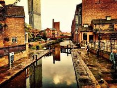 Manchester england love the canal walks