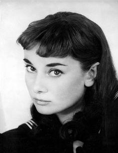 Audrey Hepburn photographed by Milton Greene,1951