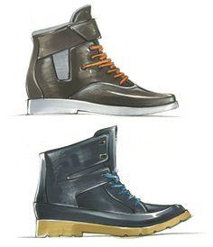 Footwear by Aaron Street at Coroflot.com
