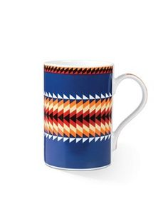 Suwanee Stripe Mug, Set Of 4