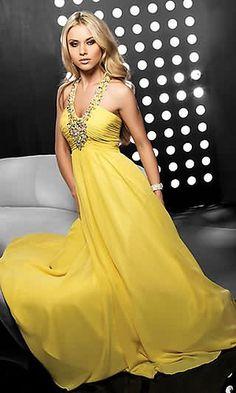 Vestidos amarillos6