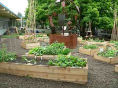 Multicultural garden at Atkinson Elementary