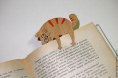Деревянная эко-закладка для книг, закладка для учебников